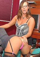 smoking super hot g string milfs fuck each and interior decorator other when husbands go away