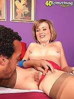 Busty milf fucking a lucky guy