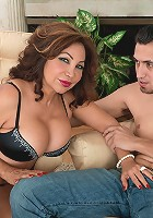 Sandra Martines - Ass-fucking, cum-guzzling Latina MILF