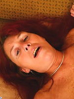 Hung boy shows his aged girlfriend what he�s up to
