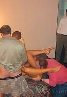 Hotel party Gang bang