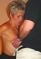Guys taking turns on Tracy in hotel