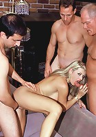 Vicky Vette with Rick Masters and Dick Nasty