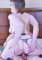 Leonora&Charles sex with mature woman