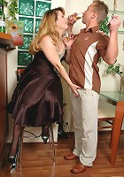 Paulina&Adrian mature woman and boy
