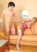 Margaret&Adam fucking mature housewife