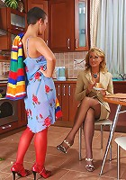 Bridget&Sheila lesbian girl and MILF