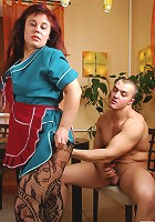 Kathleen&Nicholas mom gives ass