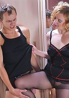 Susanna&Morris pantyhosefucking awesome mature housewife