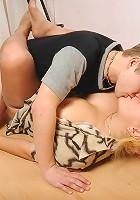 Rosemary&Jerry pantyhosefucking hot mature babe