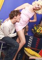 Henrietta&Mike pantyhosefucking sexy mature housewife