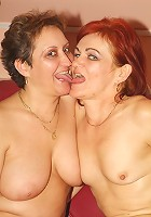 Older gals Steph And Julianna expose their dirty side and indulge their lesbian cravings