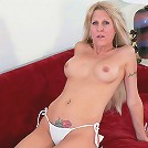 Nasty cock starved tattooed older babe flaunting her starving cunt