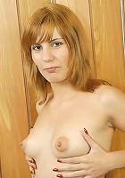 Mature bitch warming up her sex-starved twat.