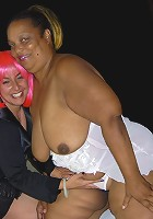 This kinky mama loves a big mature slut
