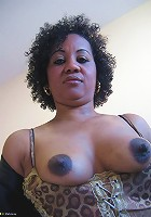 This is Ana Silvia, a hot fucking ebony mature nympho