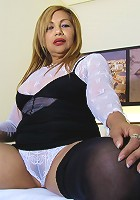 Horny housewife Katty loves to play