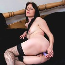 Brunette mature slut plays when shes alone