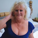 Chubby mature Claire loves to show you how wet she gets