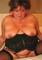 Chunky mature slut showing what shes got