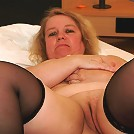 Big german housewife loves shaking her tits