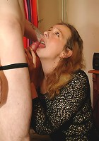 This horny housewife loves al them cocks