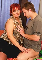 Mama gets fucked by her sons classmate