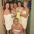 Ever wanted to take a peek in a mature sauna