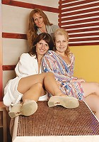 These mature women came to relax and unwind