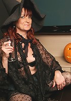 Its a naughty old and young lesbian halloween this year