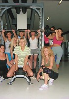These mature women are breaking up a sweat