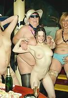 A special mature all women gang bang
