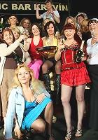 An all women mature gang bang party gets wild
