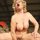 This horny mama gets nasty in the stable