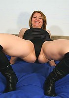 This horny MILF is ready for some serious action