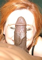 Horny mama wants a big black cock for lunch