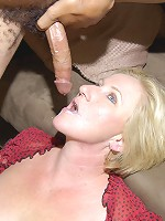 This horny housewife craves the black mans cock