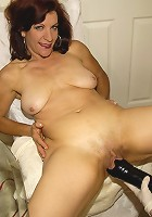 Horny housewife getting fisted and toyfucked