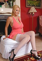 Big breasted milf Charlee Chase in lingerie