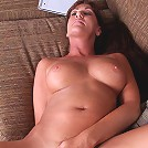 Hot Anilos babe Joann Adams squeezes her huge boobs