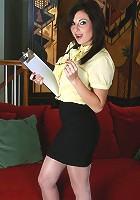 Anilos Lola Lynn is a horny office clerk who is ready to get nasty