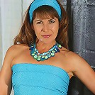 Brunette MILF Andie from AllOver30.com works out in the buff