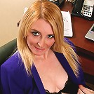Getting naked at the office is only one of her specialties