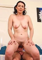 Anna B from AllOver30 gets her hairy and mature pussy pounded here
