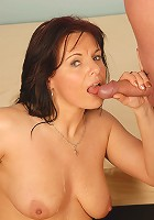 40 year old Linette enjoy a younger throbbing hard cock