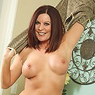 Elegant MILF Magdalene from AllOver30 doing some hot posing