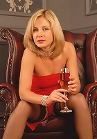 Elegant and mature Laurita from AllOver30.com spreading