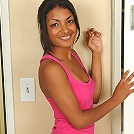 Exotic Neela from AllOver30 struts her nude and petite dark body