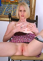 Lydia is back showing us how perfect mature bodies can be