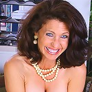 Gleeful MILF Madison is full of the holiday spirit and shows off